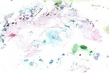 Watercolor rainbow backdrop
