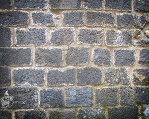 The old wall bricks texture.