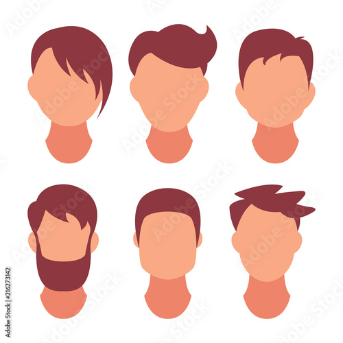 Hairstyle Men Classical And Fashionable Hair Salon Of Hairstyles