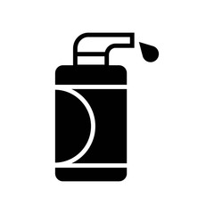 Lotion icon vector icon. Simple element illustration. Lotion symbol design. Can be used for web and mobile.