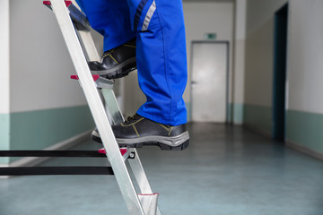 Handyman Climbing Ladder