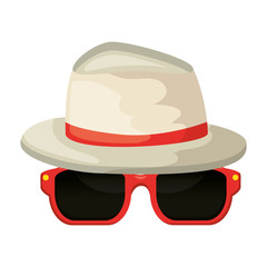 sunglasses summer with hat
