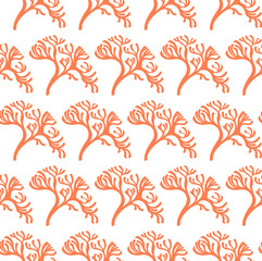 seamless algae pattern