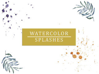 watercolor purple splash texture background isolated. Hand-drawn blob, spot. Watercolor effects. Blue winter seasonal colors abstract background. stone effect
