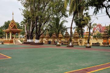 Laos  - Vientiane - Pha That Luang (Buddhistischer Tempel)