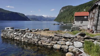 Hopland Kai, alte Panoramastraße zwischen Nordfjordeid und Stryn