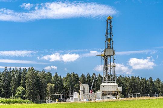 Geothermie in Bayern bohrt in 5000 Meter Tiefe nach alternativer Energiequelle