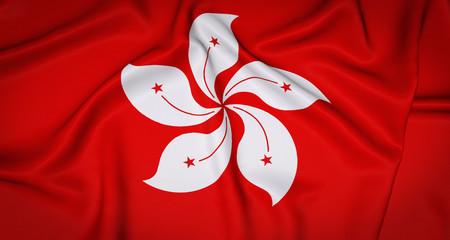Hong Kong National Flag Background