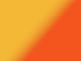 Dual Tone Halftone Diagonal Background