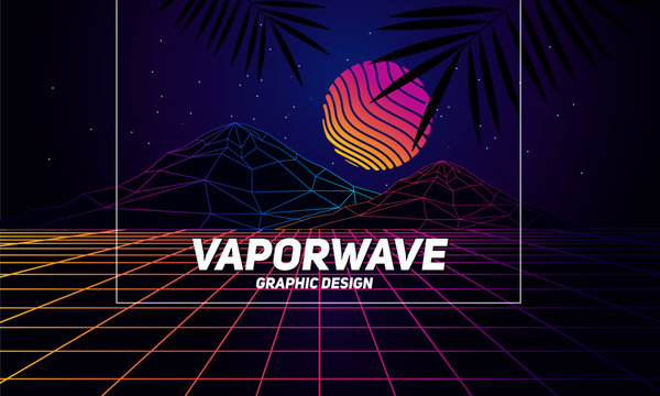 Vaporwave Photos Royalty Free Images Graphics Vectors Videos Adobe Stock