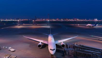 東京国際空港 国際線ターミナル 夜景