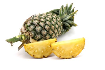 pineapple fruit slice
