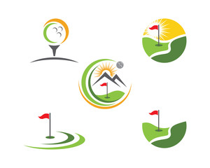Golf Logo Template icon design