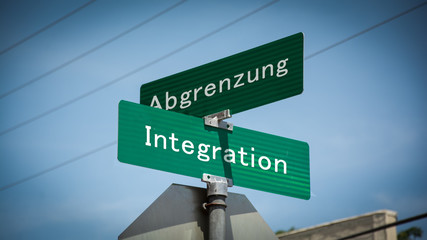 Schild 345 - Integration