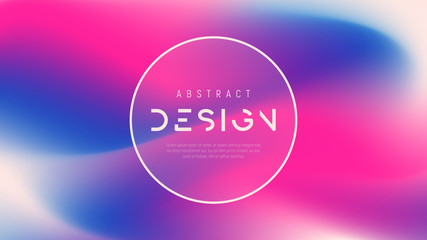 Vector abstract colorful background, trendy futuristic gradient