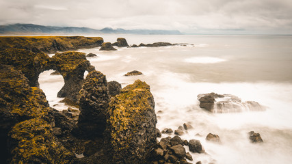 Iceland coast Landscape, Snæfellsbær