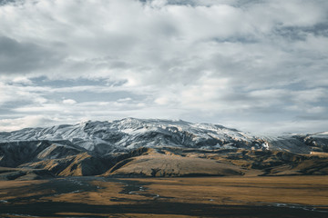 Iceland, Highlands, Landmannalaugar Landscape