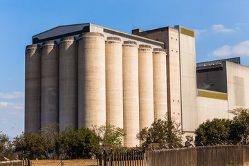 Silos Grain Storage Building Maize Wheat Agriculture Products Factory