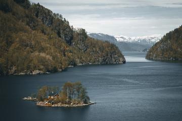 Norwegian landscape, Latefossen