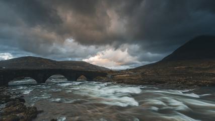 UK, Scotland sligachan landscape