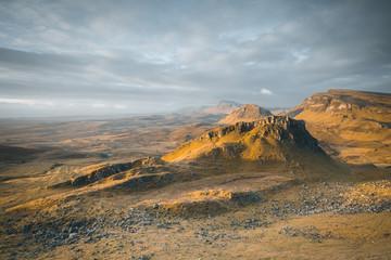 Scotland quiraing landscape