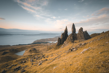 Scotland old man of storr