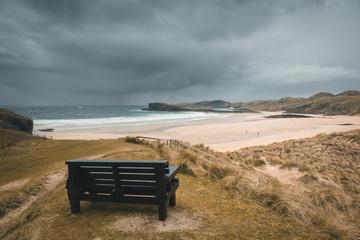 UK, Scotland beach landscape