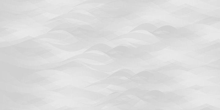 Gray abstract ocean seascape. Vector background.
