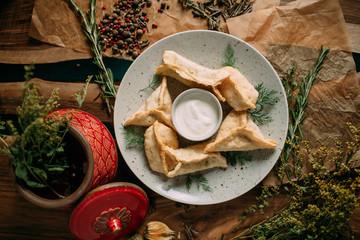 Traditional mongolian food