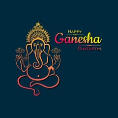happy ganesh chaturthi festival background