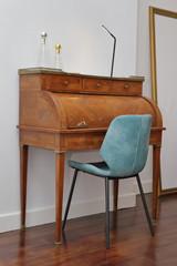 bureau secrétaire en bois ancien