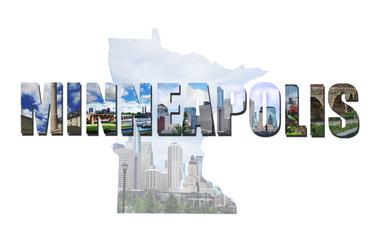Minneapolis MN collage
