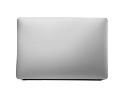 Laptop on white background. Modern technology