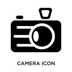 camera icons isolated on white background. Modern and editable camera icon. Simple icon vector illustration.