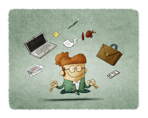Financial and Business illustrations