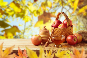Autumn and fall harvest background