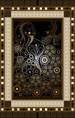 Graphical illustration of a Tarot card 3