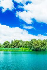 Nature park Kopacki rit in Slavonia, Croatia, popular tourist destination and birds reservation