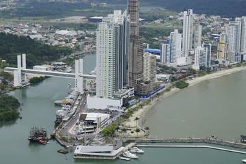 View of Balneario Camboriu, Brazil 2