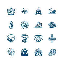 Attraction icons | MICRO series