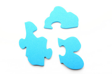 Baby blue puzzle