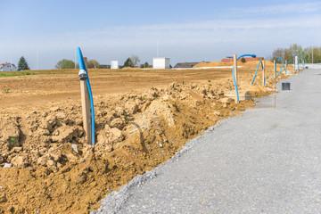 Baugrundstücke im Neubaugebiet