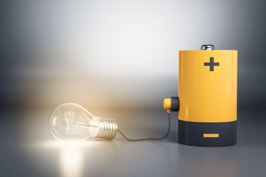 Idea and energy concept