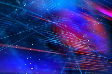 Digital geometric background