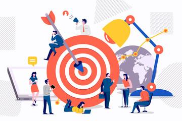 Teamwork target marketing