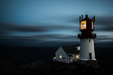 Leuchtturm Mandal Norwegen
