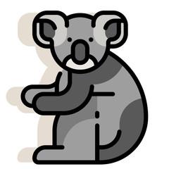 Koala LineColor illustration