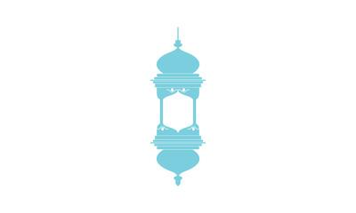 Religious lamp logo