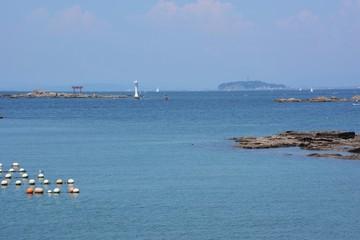 The view of the summer sea / Japan Hayama Coast