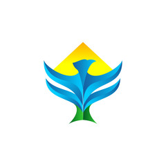 eagle bird vector logo